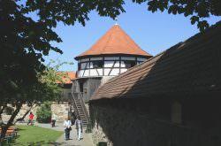 Aussichtsturm der Burg Hohenberg