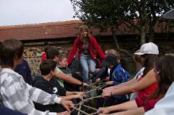 Teambuilding auf Burg Hohenberg